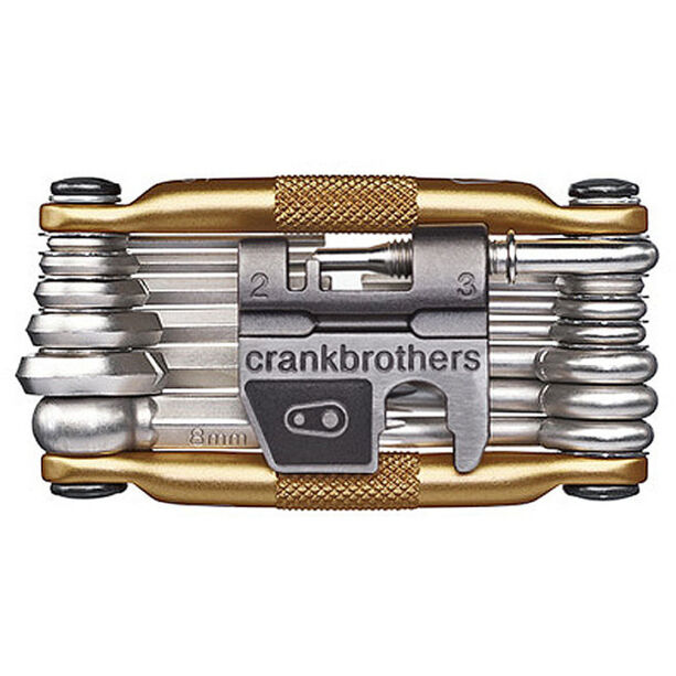 Crankbrothers Multi-19 Multi Tool gold