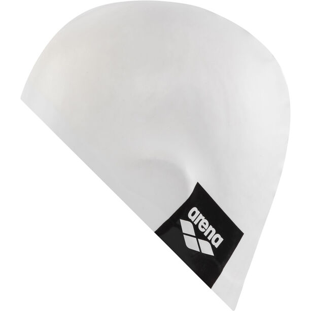 arena Logo Moulded Swimming Cap white
