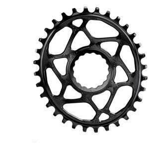 absoluteBLACK Ovales Kettenblatt Spiderless Boost148 für Race Face Cinch black black