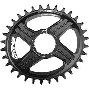 Rotor Q-Ring Direct Mount MTB Kettenblatt R-Hawk/R-Raptor schwarz schwarz