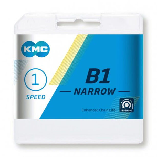 KMC B1 Narrow Kette 1-fach black