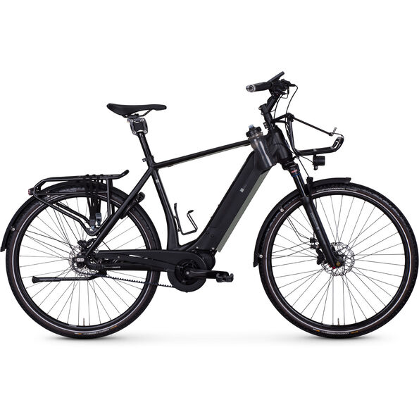e-bike manufaktur 17ZEHN Diamant Revolution Disc Gates schwarz matt