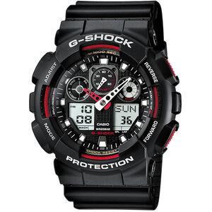 CASIO G-SHOCK GA-100-1A4ER Uhr Herren black black