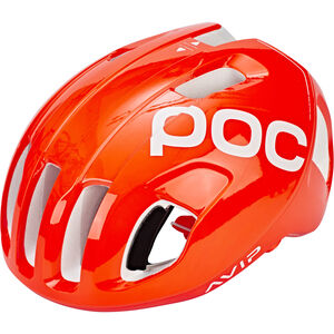 POC Ventral Spin Helmet zink orange avip zink orange avip