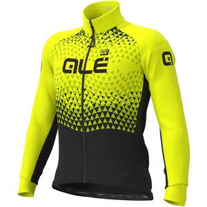 Alé Cycling Solid Summit DWR Jacke Herren black-fluo yellow black-fluo yellow
