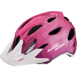 Alpina Carapax Flash Helmet Junior pink-white bei fahrrad.de Online
