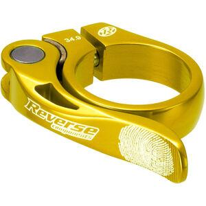 Reverse Long Life Sattelklemme 34,9mm gold