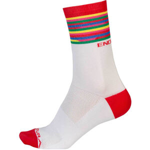 Endura Pinstripe Socks Men white bei fahrrad.de Online