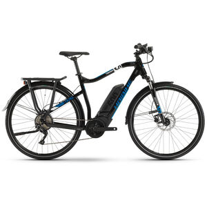 HAIBIKE SDURO Trekking 3.0 Herren black/white/blue black/white/blue