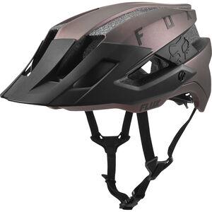 Fox Flux Solid Trail Helmet Herren black iri black iri