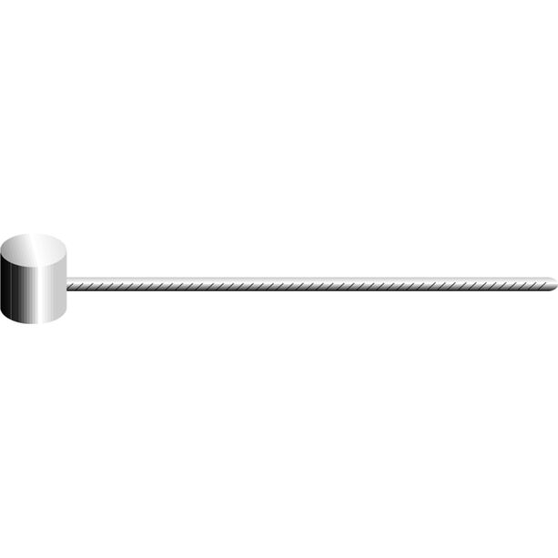 Jagwire MTB Bremszug für Shimano/MTB geschliffen silber