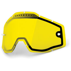 100% Vented Dual Replacement Lenses dual yellow / clear bei fahrrad.de Online