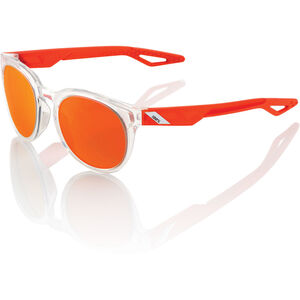 100% Campo Glasses polished crystal clear orange   mirror polished crystal clear orange   mirror