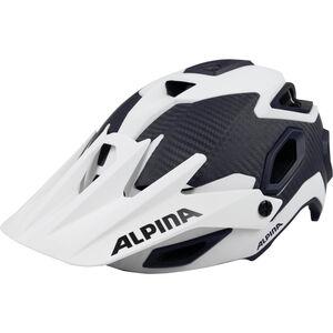 Alpina Rootage Helmet white-carbon white-carbon
