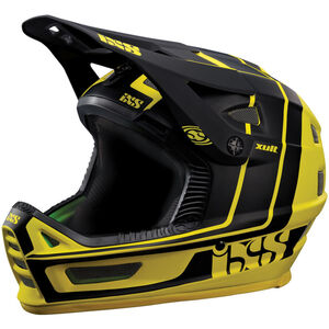 IXS Xult Fullface Helmet yellow/black yellow/black