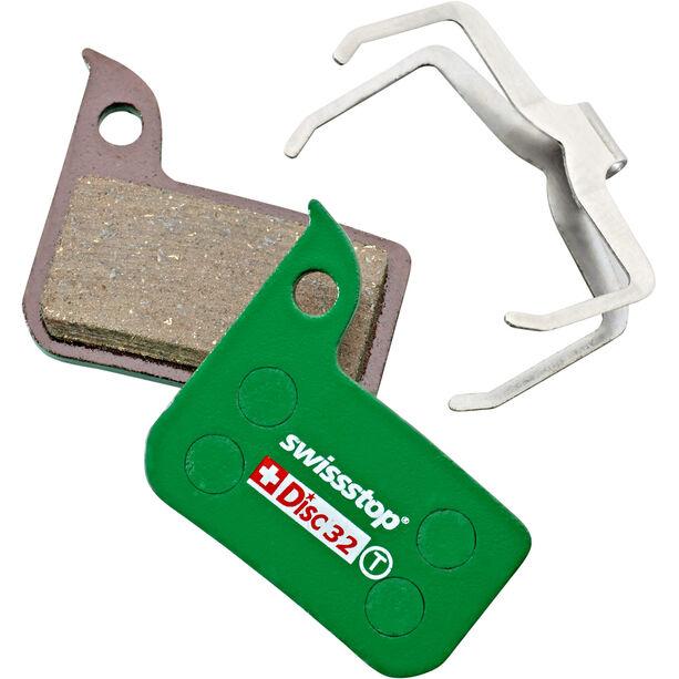 SwissStop Disc 32 Bremsbeläge für SRAM HRD grün