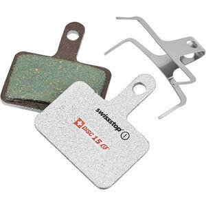 SwissStop Disc 15e Bremsbeläge für Shimano/TRP/Tektro/Quad E-Bike silber silber