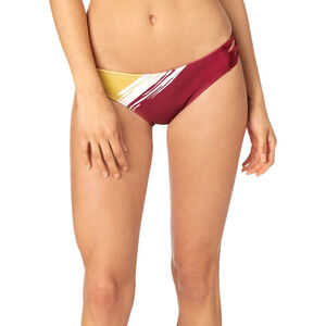Fox Rodka Lace Up Bikini Bottom Damen dark red dark red
