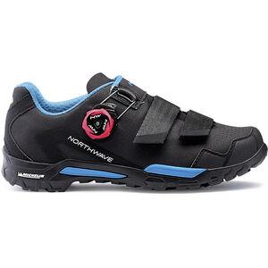 Northwave Outcross 2 Plus Shoes Women black/aqua