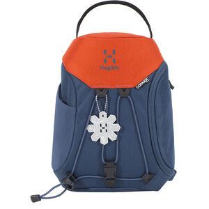 Haglöfs Corker X-Small Backpack 5l Kinder blue ink/sunset blue ink/sunset