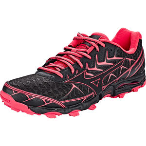 Mizuno Wave Hayate 4 Running Shoes Women black/black/teaberry bei fahrrad.de Online