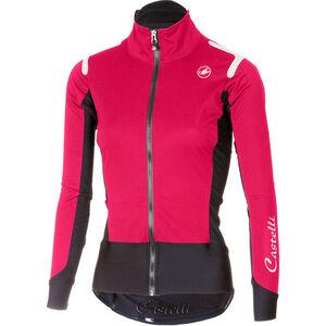 Castelli Alpha Ros Light Jacket Women electric/magenta/black bei fahrrad.de Online
