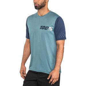 100% Ridecamp Jersey Men Slate Blue