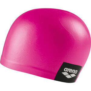 arena Logo Moulded Swimming Cap pink pink