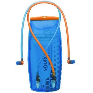 SOURCE Divide Widepac Trinkblase 2 Liter transparent-blue transparent-blue