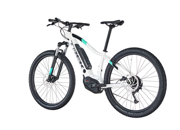 Trek Powerfly 4 Damen crystal white
