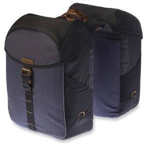 Basil Miles Doppel-Gepäckträgertasche 34l black slate black slate