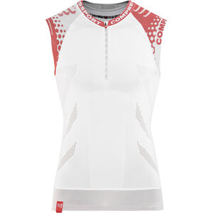 Compressport Trail Running Shirt Tank Unisex White bei fahrrad.de Online