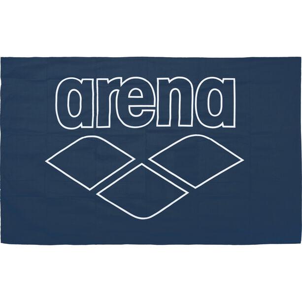 arena Pool Smart Towel navy-white