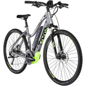 HAIBIKE SDURO Cross 4.0 Damen grau/schwarz/grün bei fahrrad.de Online