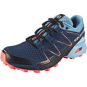 Salomon Speedcross Vario GTX Trailrunning Schuhe Damen slateblue/blue gum/coral punch slateblue/blue gum/coral punch