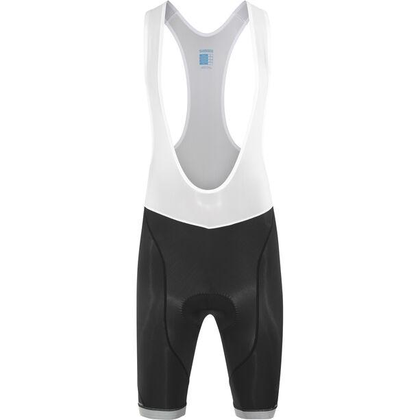 Shimano Aspire Bib Shorts Herren black/white