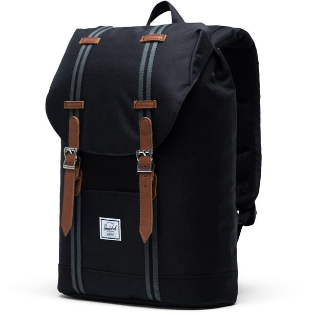 Herschel Retreat Mid-Volume Rucksack 14l black/black/tan