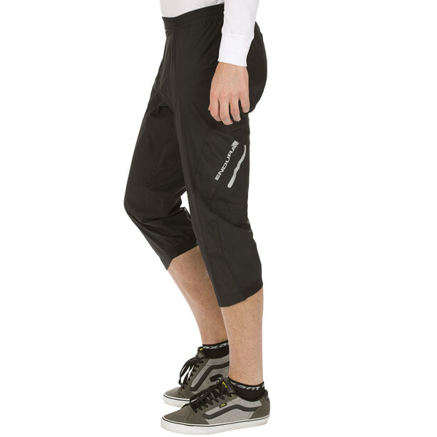 Endura Helium 3/4 Winter Pants Herren black black