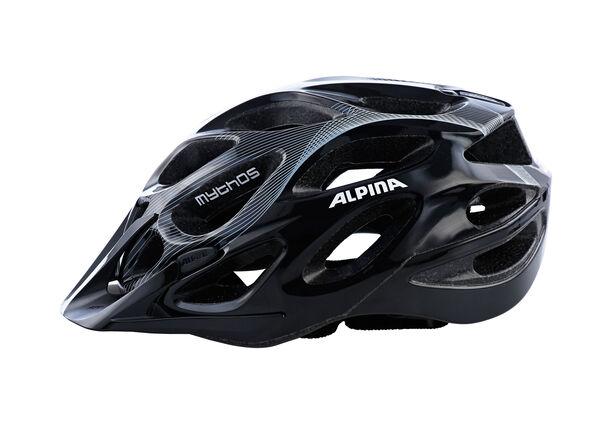 Alpina Mythos 2.0 Helmet black-white lines