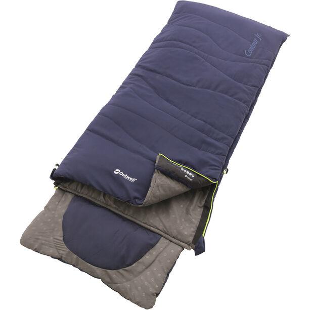 Outwell Contour Sleeping Bag Kinder royal blue