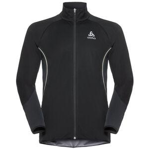 Odlo Zeroweight Windproof Reflect Warm Jacket Herren black black