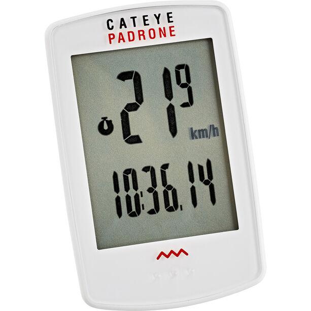 CatEye Padrone CC-PA100W Fahrradcomputer weiß