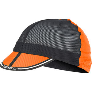 Castelli Ros Cycling Cap orange orange