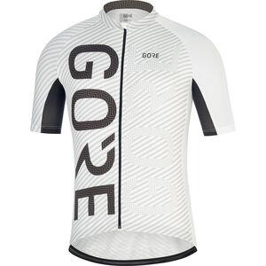 GORE WEAR C3 Brand Jersey white/black
