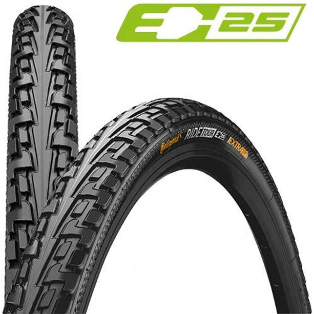 Continental Ride Tour Reifen 20 x 1,75 Zoll Draht schwarz