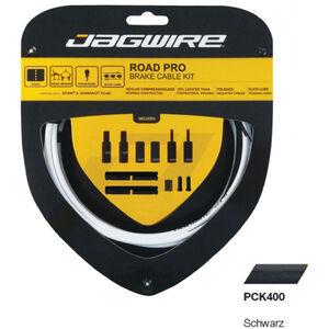 Jagwire Road Pro Bremszugset schwarz schwarz