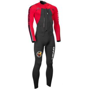 Head ÖTILLÖ Swimrun Rough Suit Long Men Black/Red