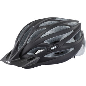 UVEX Oversize Helmet black mat-silver