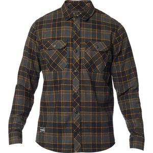 Fox Traildust 2.0 Flannel Langarmshirt Herren black black