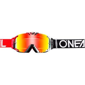 O'Neal B-30 Goggles duplex black/red/white-radium duplex black/red/white-radium